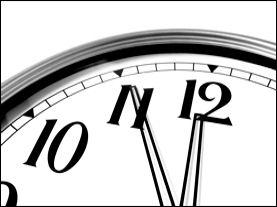 photo of small clock