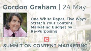 Gordon Graham Summit on Content marketing speaker graphic