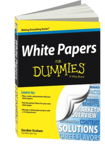 cover of White Papers for Dummies