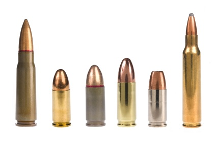 photo of a row of bullets