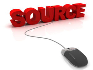 letters SOURCE with mouse to show white paper sources