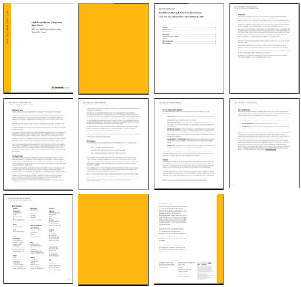 Overview of white paper 11 pages
