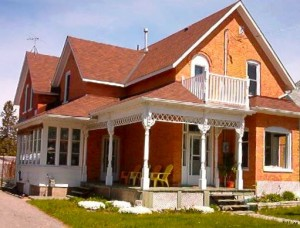 photo of our home in northern Ontario