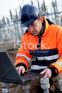 stock photo showing watermark