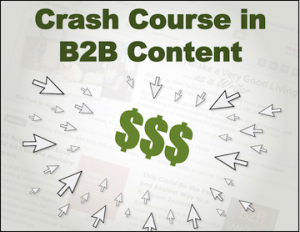 logo for Crash Course in B2B Content