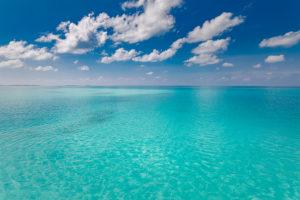photo of azure tropical ocean