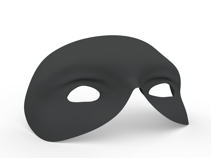 photo of black mask