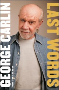 cover of George Carlin book Last Words