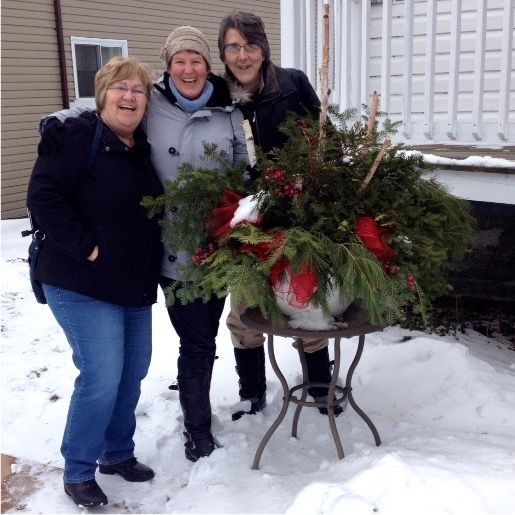 Merry Christmas from Pauline, Angie, and Gordon