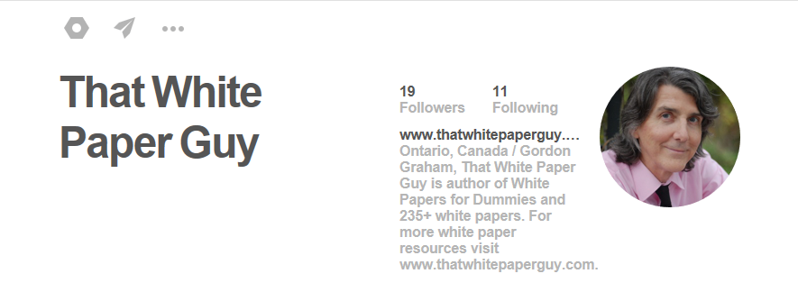 That White Paper Guy-Pinterest-profile