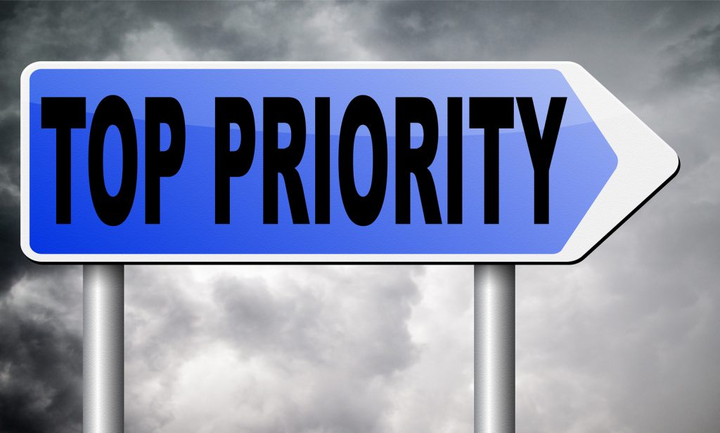 top priority sign That White Paper Guy