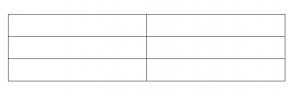sample table for a white paper