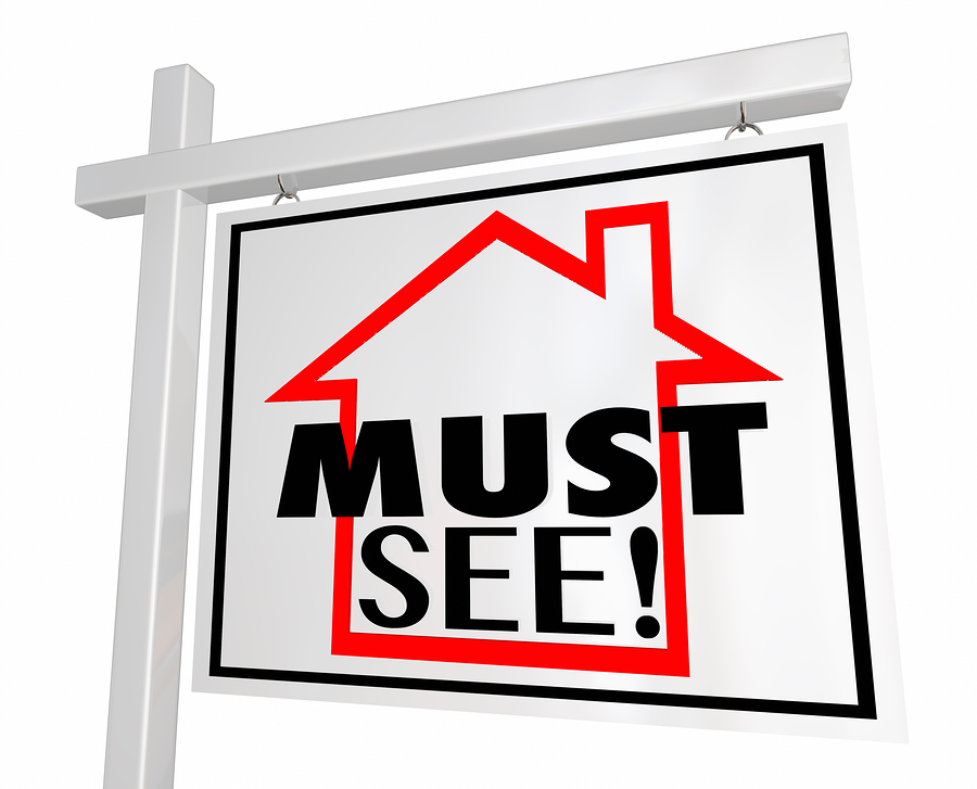 Must-see Home For Sale Sign could apply to your white paper cover