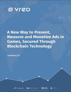 Vreo white paper cover