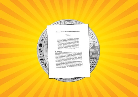 Bitcoin white paper on sunburst