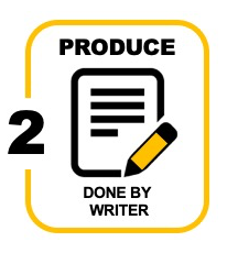 icon for phase 2 of a white paper: production