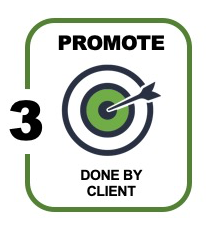icon for phase 3 of any white paper: promotions