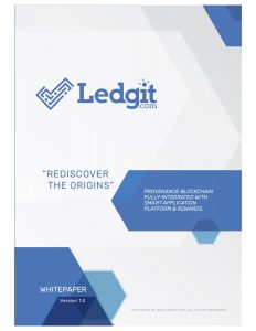 cover of LEDGIT ICO white paper