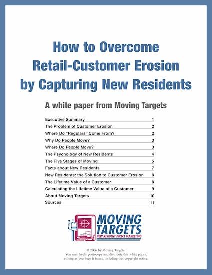Retail customer erosion