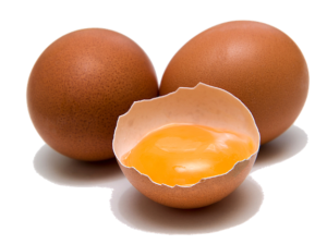 photo of brown eggs