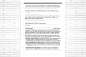 wall of grey white paper design