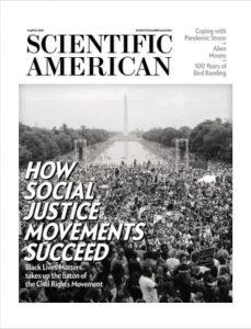 magazine cover Scientific American