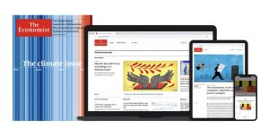 The Economist magazine as an example of clear technical information