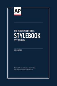 AP Stylebook 2020
