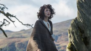 photo of Claire from Outlander show